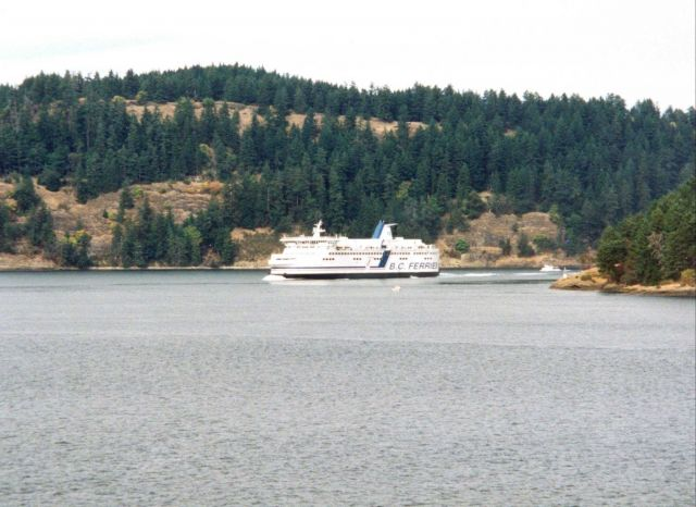 British Columbia ferry boat Picture