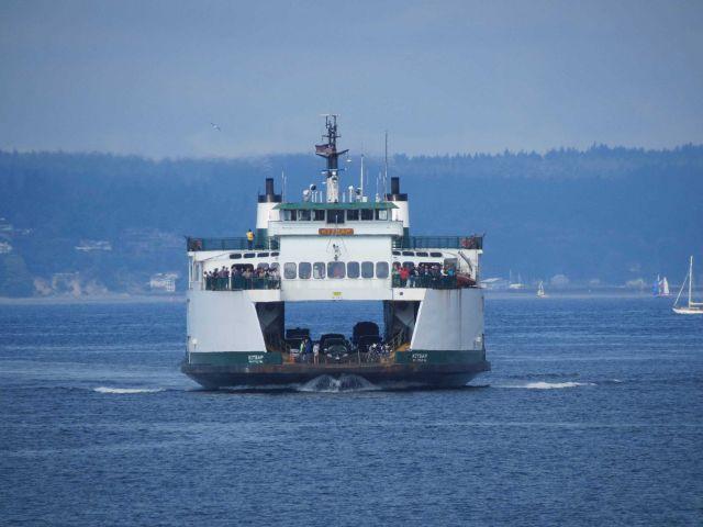 Seattle ferry boat KITSAP Picture