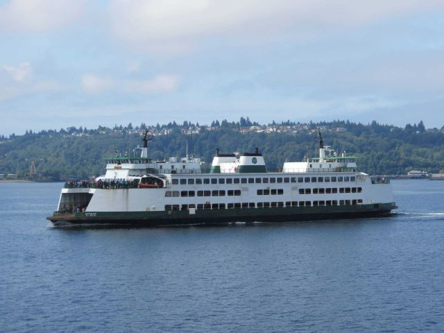 Seattle ferry boat KITSAP Picture