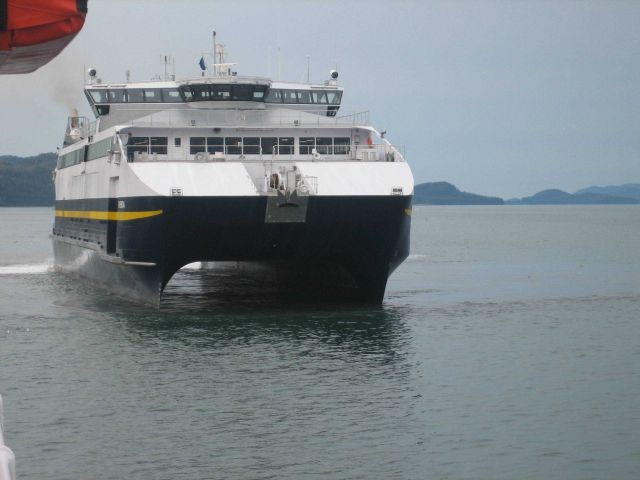 Alaska ferry CHENEGA at Valdez Picture