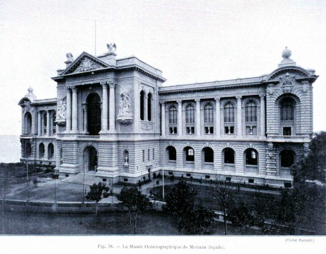 The Museum of Oceanography at Monaco begun by Prince Albert of Monaco Picture