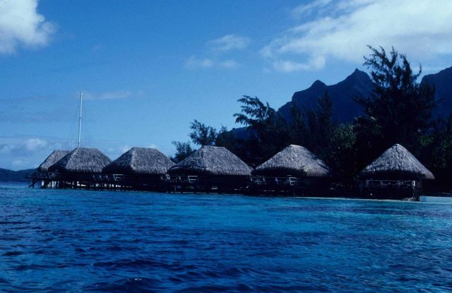 Hotel rooms on Bora Bora Picture