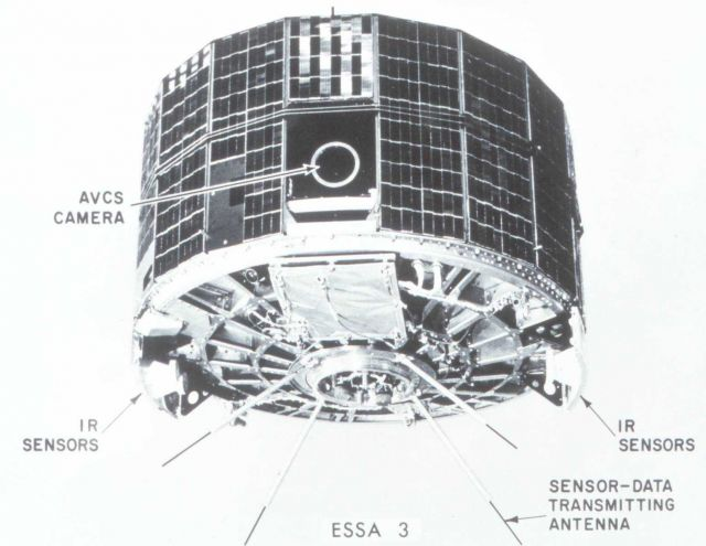 ESSA 3 satellite launched October 2, 1966 Picture