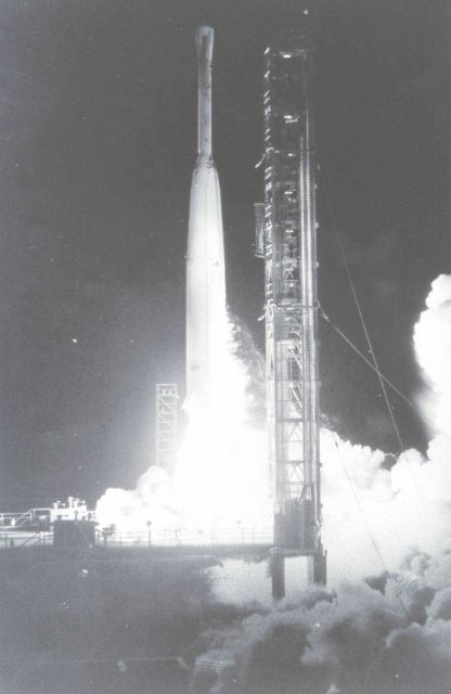 Launch of ESSA I, the first satellite actually owned and operated by a forerunner of NOAA Picture