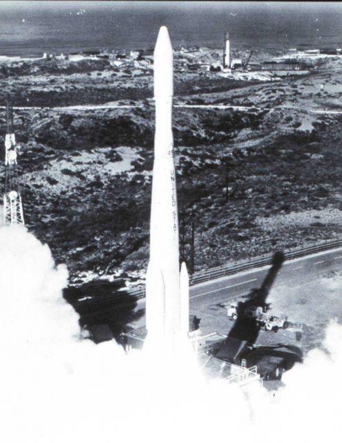 Launch of ESSA IV Picture