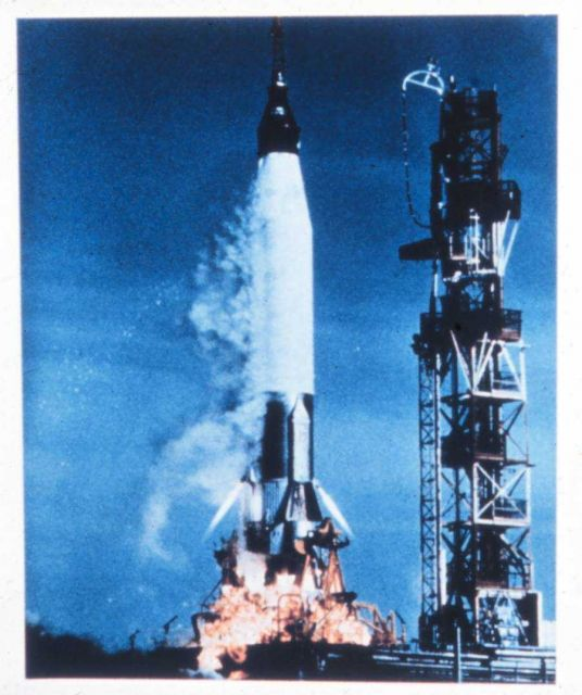 A Mercury launch Picture
