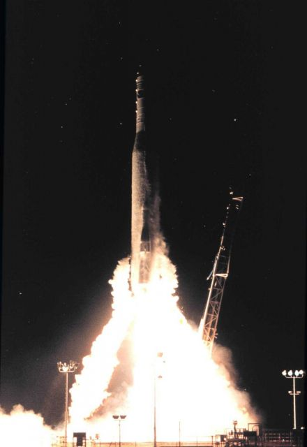 Launch of NOAA satellite Picture