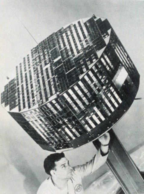 Making adjustments to TIROS II satellite prior to launch Picture