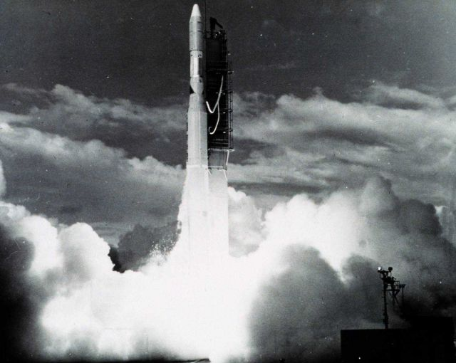 NOAA 2 lifts off. Picture