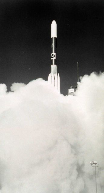 GOES-F launching into orbit Picture