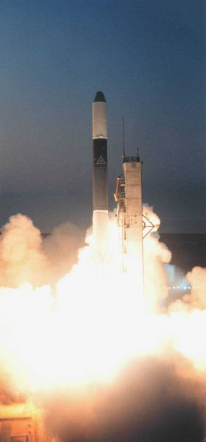 The launch of GOES-B aboard Delta Launch Vehicle 131 Picture
