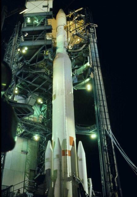 Pre-launch of satellite Picture