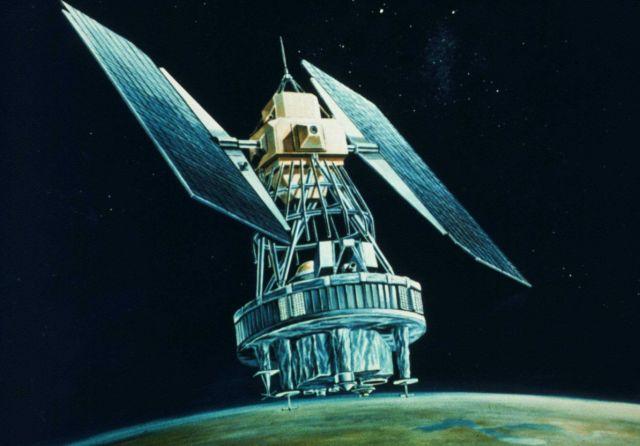 Unidentified satellite configuration Picture