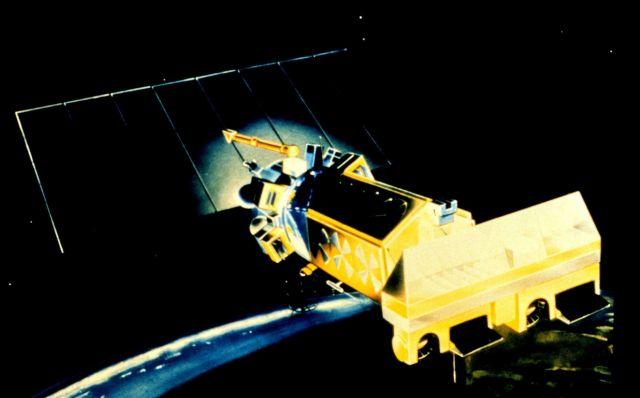 TIROS-N satellite Picture