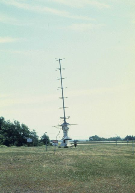Satellite antenna at Wallops Island, Virginia Picture