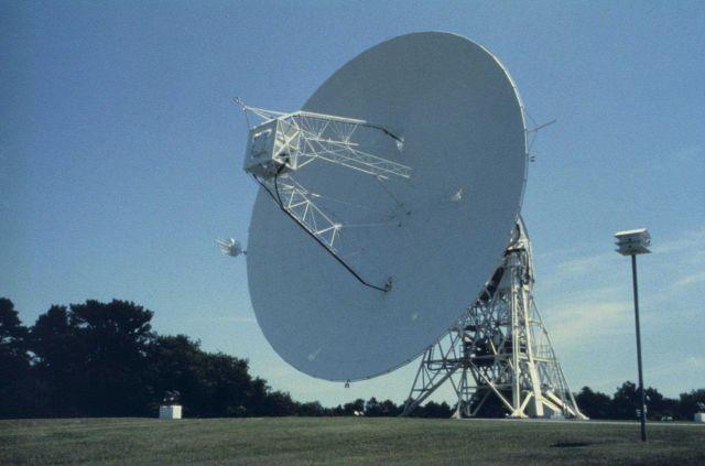 Satellite antenna at Wallops Island, Virginia Picture