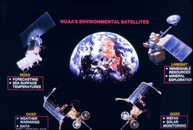 NOAA's environmental satellites circa 1980 Picture