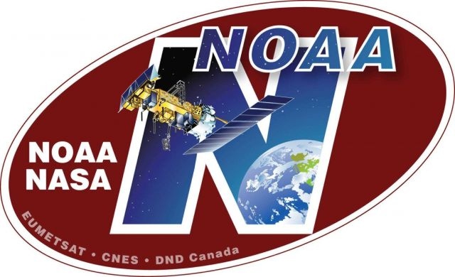 NOAA-N spacecraft decal Picture