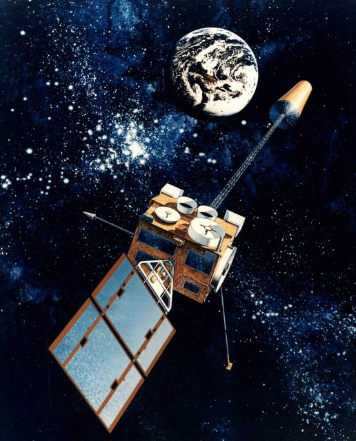GOES satellite observing Earth Picture