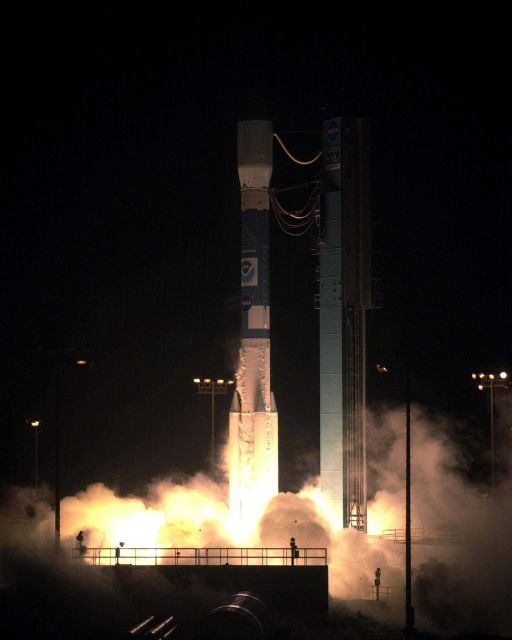 Launch of NOAA-N which became NOAA-18 after launch from Vandenberg Air Force Base. Picture