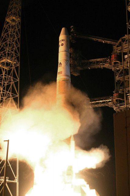 Launch of GOES-P, which upon becoming operational became GOES 15, from Cape Canaveral Picture