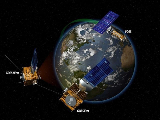 Conceptual diagram of NOAA satellite systems Picture