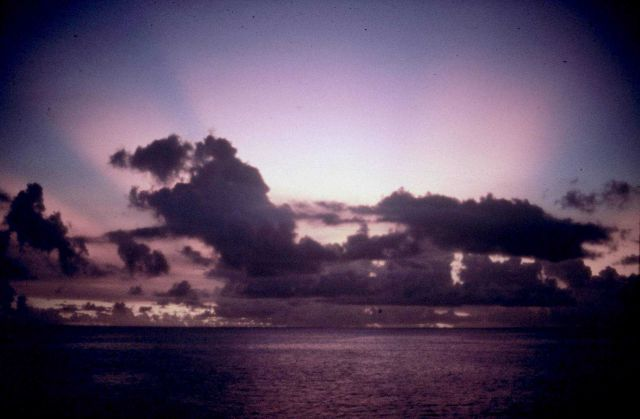 Sunset in the Marianas Islands Picture
