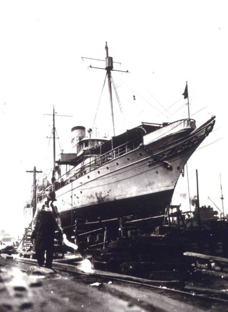 Coast and Geodetic Survey Ship LYDONIA Picture