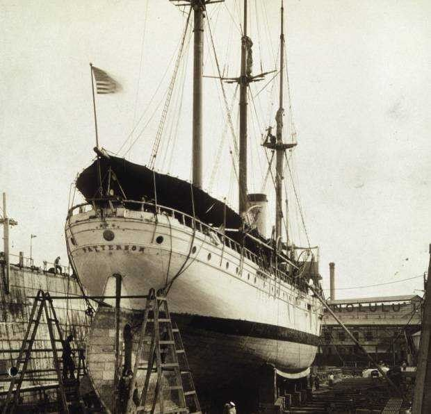 Coast and Geodetic Survey Steamer PATTERSON at Honolulu Picture
