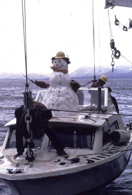 Frosty says