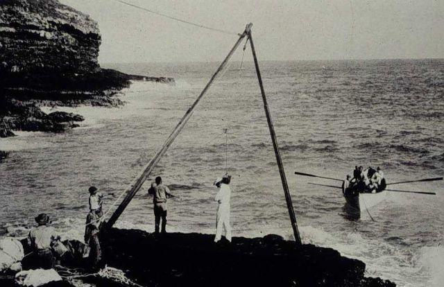 Landing on Necker Island Picture