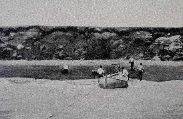 Landing Shoran gear at Nushagak Bay Picture