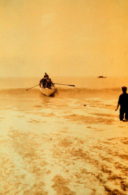 Surf landing west of Icy Point Picture