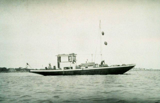 A charter boat used for current surveys in Boston Harbor Picture