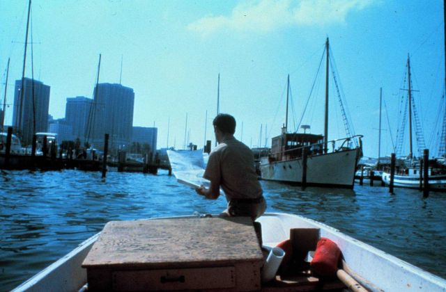 Checking aids to navigation from Boston Whaler Picture