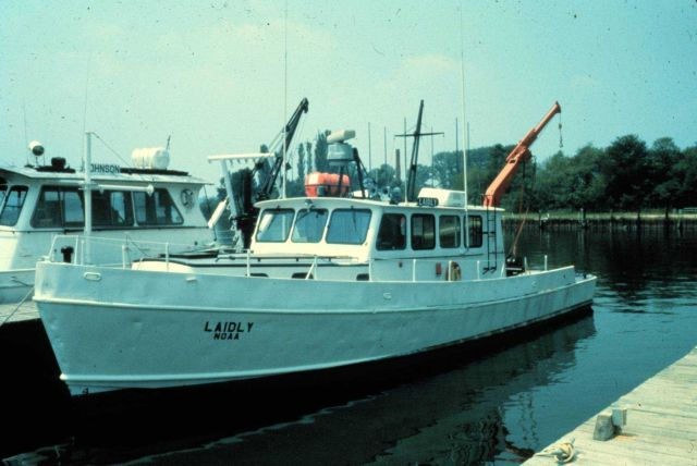 NOAA R/V LAIDLY - used originally on Great Lakes Picture