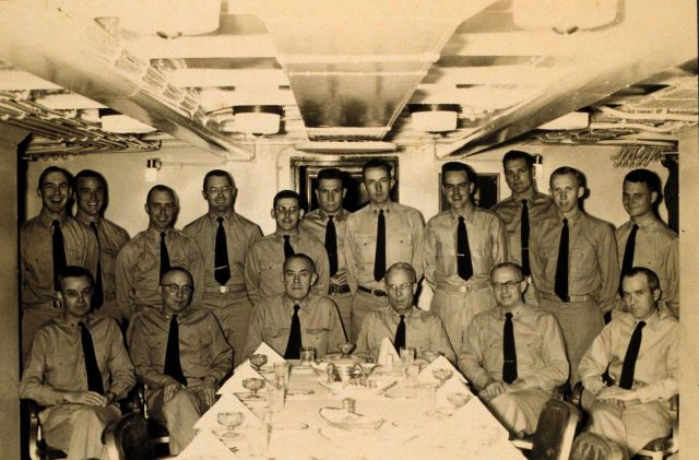 Wardroom of PATHFINDER 1958 Picture
