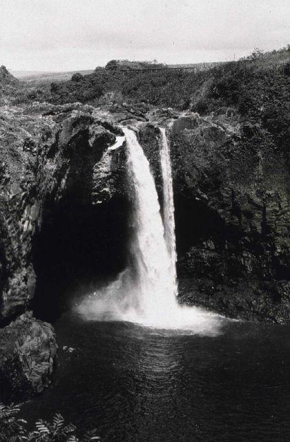 Hawaiian waterfalls. Picture