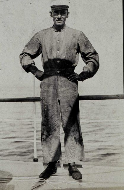 Chief Engineer George Hutchison. Picture