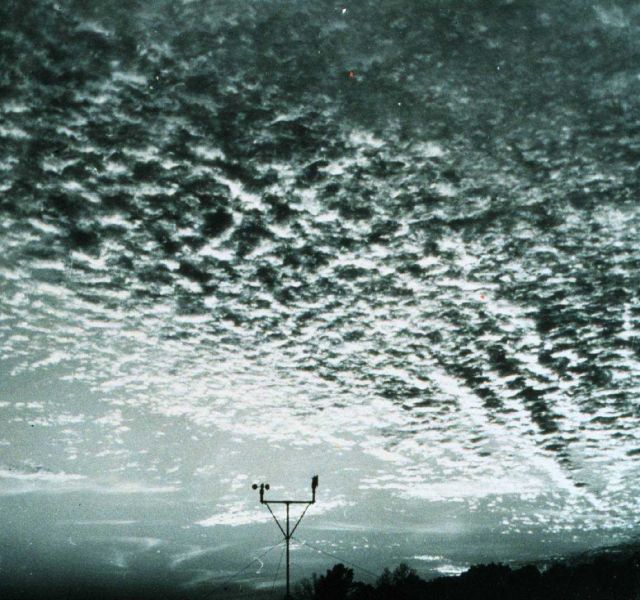 Altocumulus adding to the beauty of a glorious sunset Picture