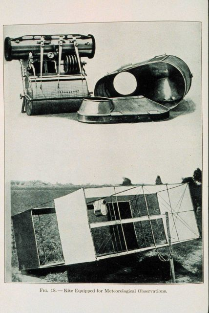 A kite equipped for meteorological observations Figure 18 of