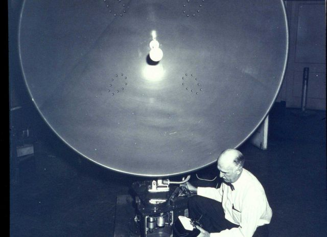 Weather Bureau electronics specialist Thomas D Picture