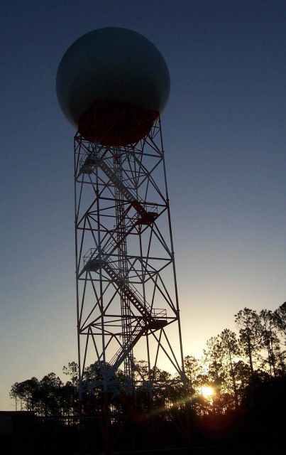 NWS Radar Tower & Radome Picture