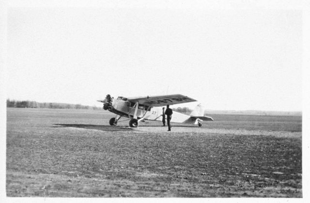 Airmail aircraft Hamilton NC879H, probably at Madison. Picture
