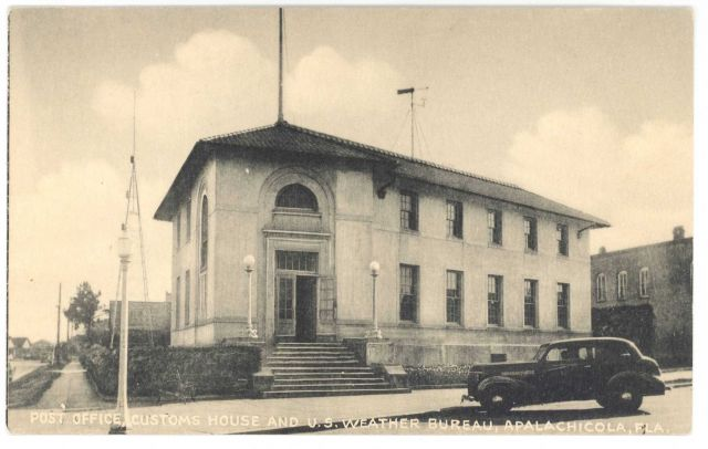 Postcard of the Post Office, Customs Office, and U.S Picture
