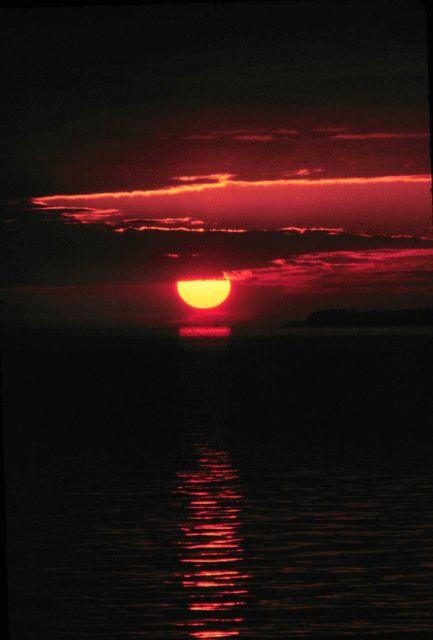 A SURVEYOR sunset Picture