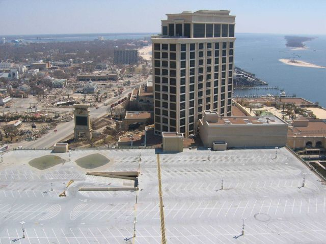 Beau Rivage Hotel looking east Picture