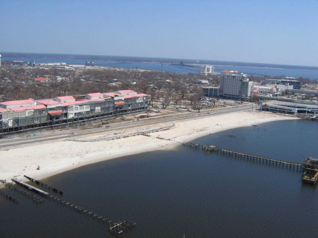 Biloxi Grand Casino barge 1,000 yards west of hotel on other side of Highway 90 Picture