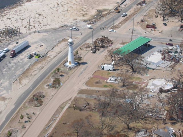 The Lighthouse at Biloxi, a symbol of hope and resilience. Picture