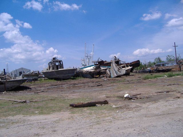 The aftermath of Katrina Picture